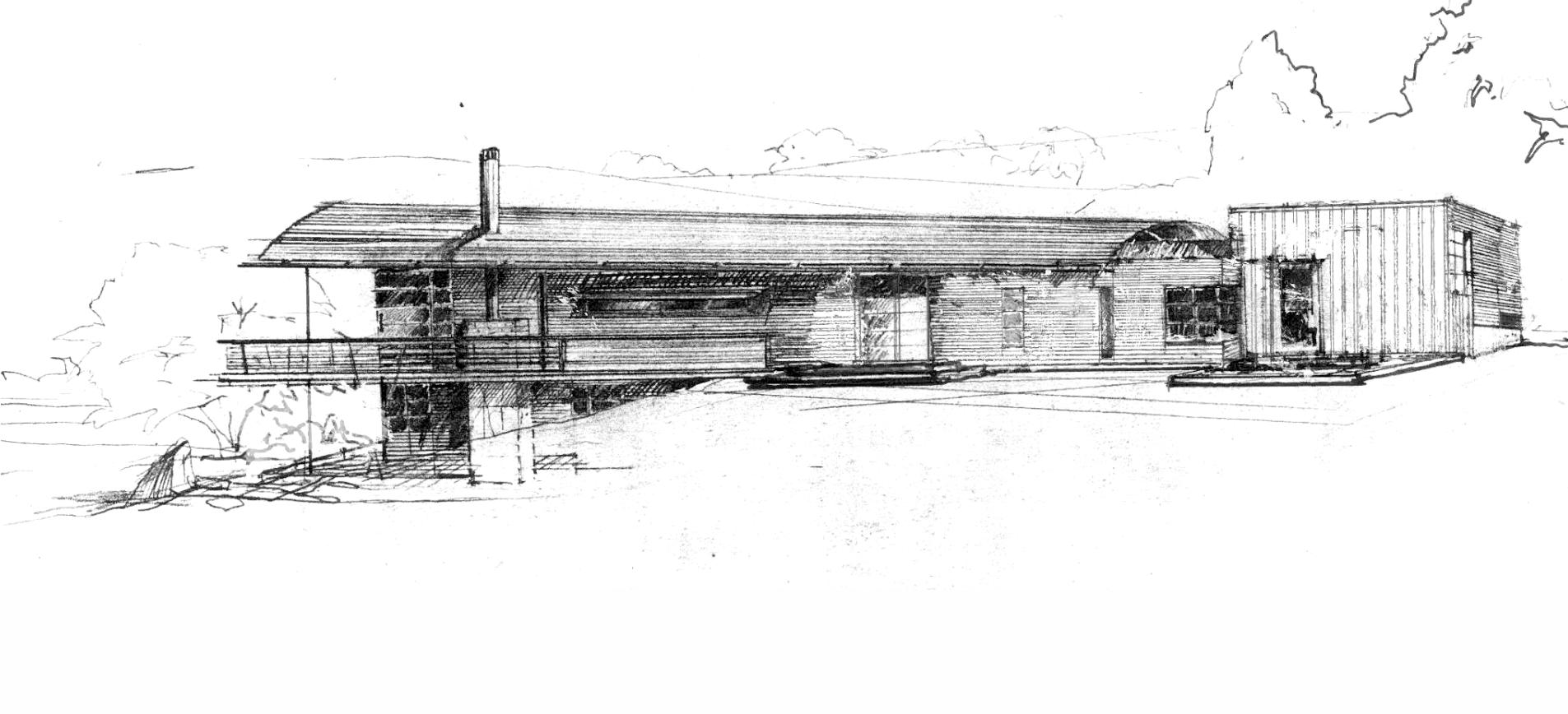 Hogan/Mayo House 3 Project, Del Mar, CA 1996 Designer: Fu-Tung Cheng