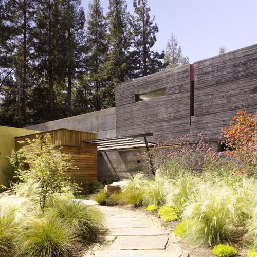 Menlo Park Apartments: House 6 : Concrete House #6, Menlo Park CA