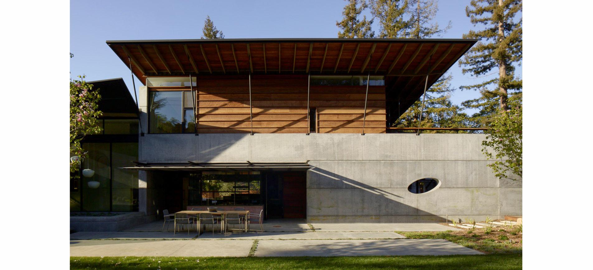 House 7 : Concrete Village House, Los Altos Hills CA