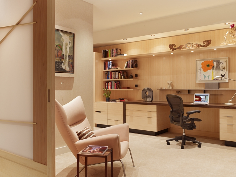 San Francisco High-Rise Remodel - Library | CHENG Design