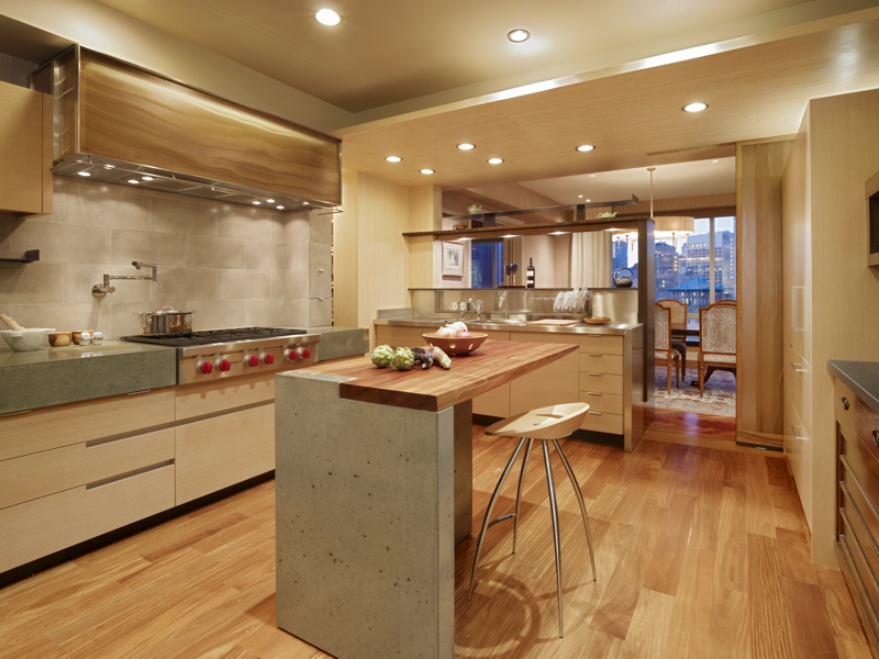 San Francisco High-Rise Remodel - Kitchen | CHENG Design