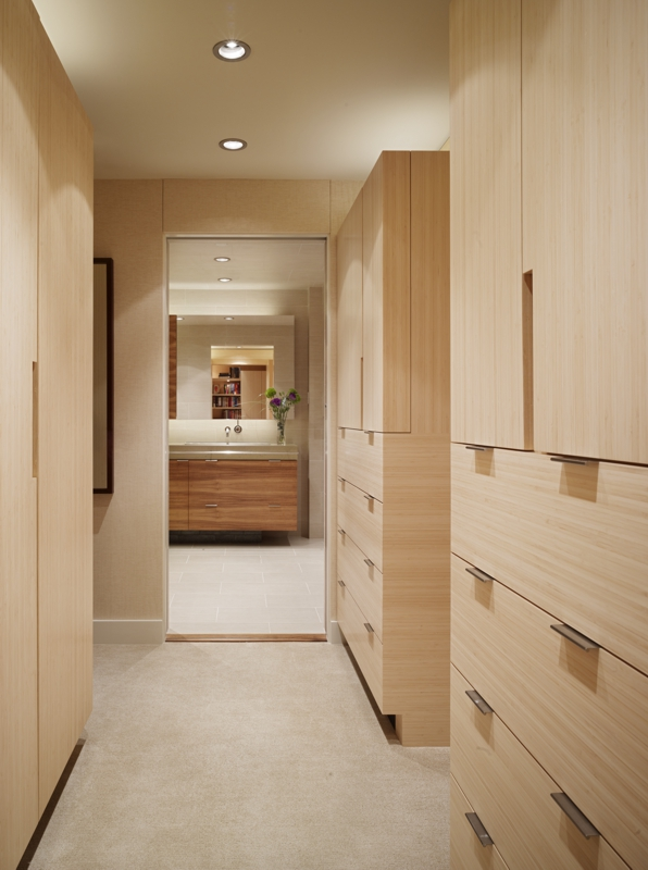 San Francisco High-Rise Remodel - Walk-in Closet | CHENG Design