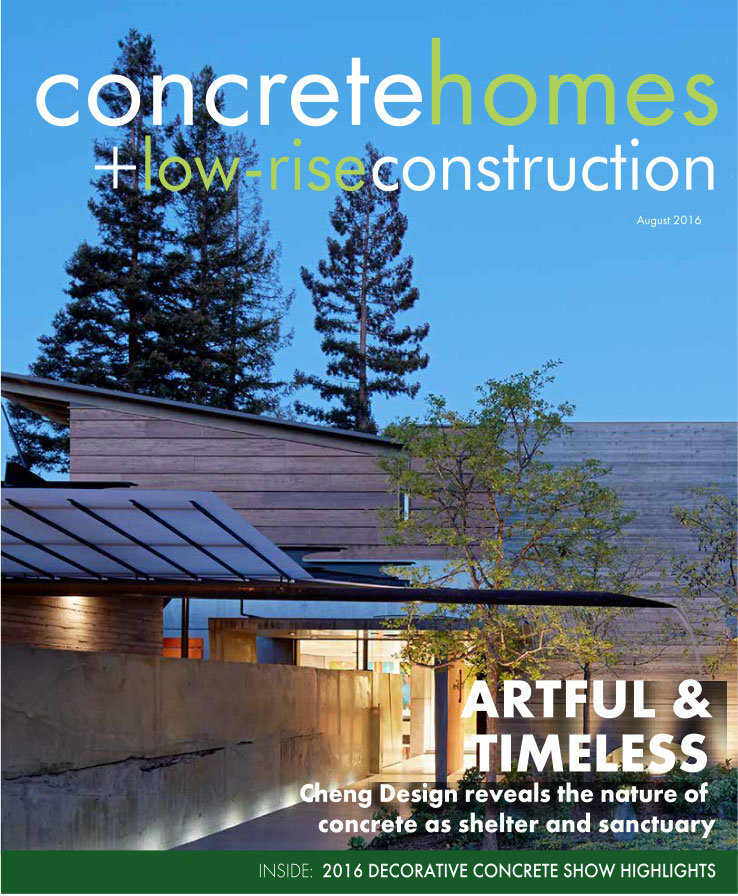 CONCRETE HOMES — Featured Cover | ARTFUL & TIMELESS: House 7 by CHENG Design