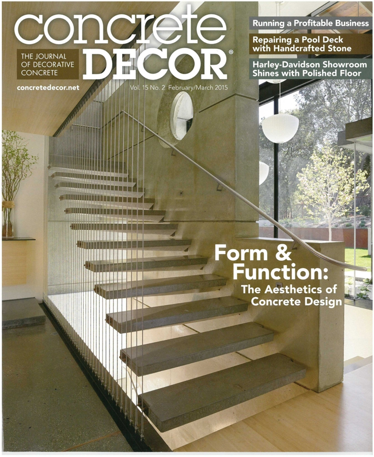 Concrete Décor   Form & Function: The Aesthetics of Concrete Design – featuring CHENG Design