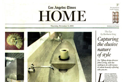 LOS ANGELES TIMES HOME — Cover Story