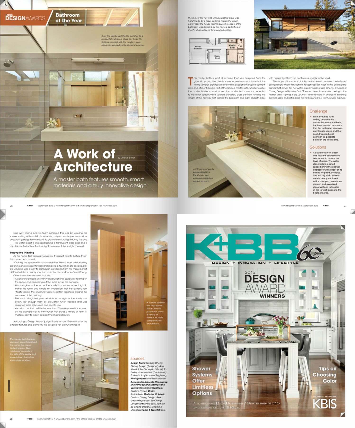 K+BB Design Awards: Bath of the Year