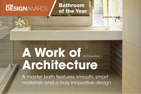 K+BB Design Awards: Bath of the Year