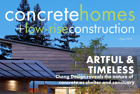 CONCRETE HOMES — Featured Cover