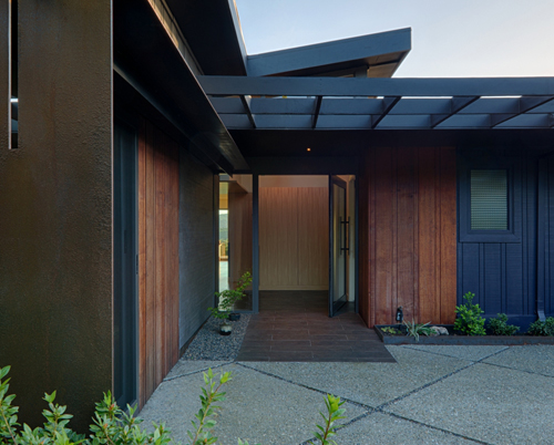 Lafayette Residence - Exterior Entrance | CHENG Design
